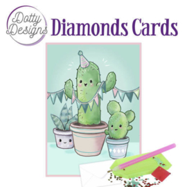 Diamond Painting kaart Cactus