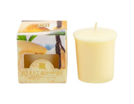 Heart & Home votive candle 52gr French Vanilla