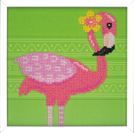 Diamond Painting kit Flamingo