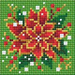 Diamond Mosaic - RIOLIS - Poinsettia