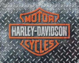 Diamond Painting Miss Coccinelle Harley Davidson  40x50