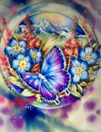 Diamond Painting ML Budget Butterfly