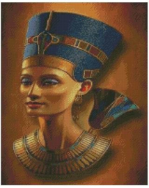 Diamond Painting Miss Coccinelle  Egypte 40x50