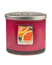 Heart & Home Pink Grapefruit & Cassis ellips 230gr 2 lonten