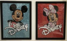Diamond Painting Special Stones Minnie/Mickey 30x40