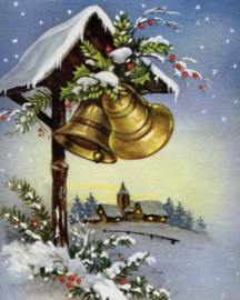 Diamond Painting Miss Coccinelle Xmas Bells 40x50
