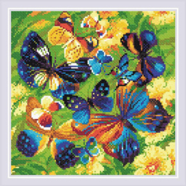 Diamond Mosaic - RIOLIS - Bright Butterflies