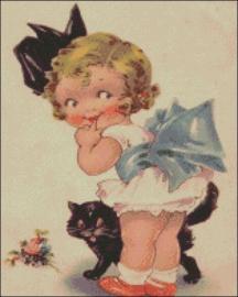 Diamond Painting Miss Coccinelle  Litte Lady