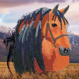 Diamond Painting kaart Horse