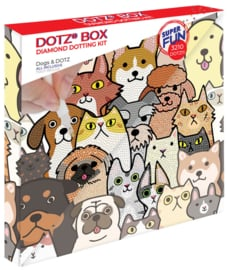 Diamond Dotz BOX Kids  Dogs & DOTZ