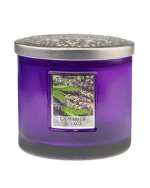 Heart & Home Lavender & Sage ellips 230gr 2 lonten