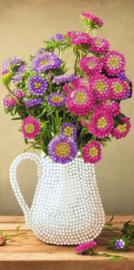 Diamond Painting Wenskaart  Flower Vase