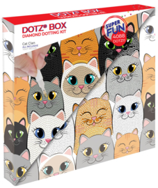 Diamond Dotz BOX Kids Cat Clan