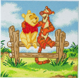 Diamond Painting Disney  Pooh and Tiger  30 x 30