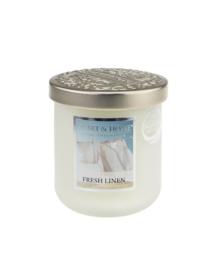 Heart & Home candle 115gr Fresh Linen