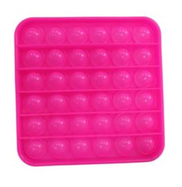 POP-IT Fidget Rage Game TIK TOK Hype vierkant fluo roze