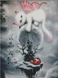 Diamond Painting Miss Coccinelle Fantasy  50x70