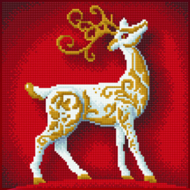 Diamond Art  Dala Reindeer- Leisure Arts