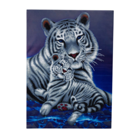 Diamond Painting Crystal Art Loving Embrace 90x65 Partial Crystal