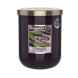 Heart & Home candle 340gr Lavender & Sage