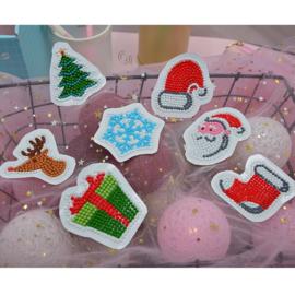 Diamond Painting  Stickerset Christmas