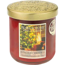 Heart & Home candle 115gr Home For Christmas
