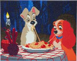 Diamond Painting Disney Lady & The Tramp   40x50