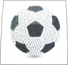 Crystal Art Sticker Voetbal
