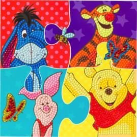 Diamond Painting Disney kaart Winnie The Pooh Puzzle