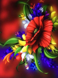 Diamond Painting ML Budget Flowers