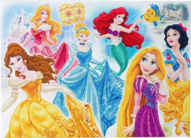 Diamond Painting Disney Princess  Medley 60x95