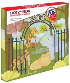 Diamond Dotz BOX Kids At the Zoo