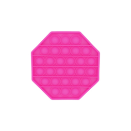 POP-IT Fidget Rage Game TIK TOK Hype 8-hoek fluo roze