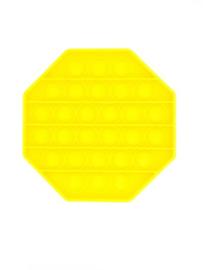 POP-IT Fidget Rage Game TIK TOK Hype 8-hoek geel