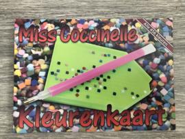 Kleurenkaart steentjes
