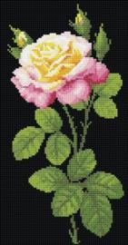 Diamond Mosaic - RIOLIS - Wonderful Rose