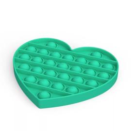 POP-IT Fidget Rage Game TIK TOK Hype hart groen