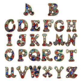 Diamond Painting sleutelhanger Alfabet