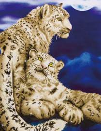 Diamond Dotz Snow Leopards - Needleart World