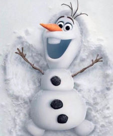 Diamond Painting Miss Coccinelle Frozen Olaf 40x50
