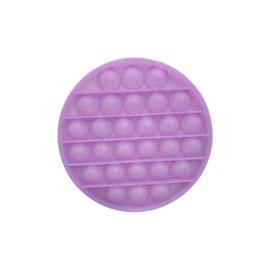 POP-IT Fidget Rage Game TIK TOK Hype rond glitter lila