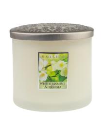 Heart & Home White Jasmine and Freesia ellips 230gr 2 lonten