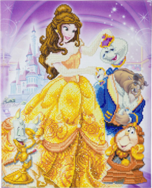 Diamond Painting Disney Beauty and the Beast Medley  40x50
