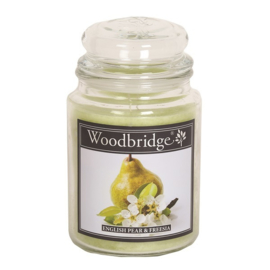 English Pear & Freesia 565g Large Candle