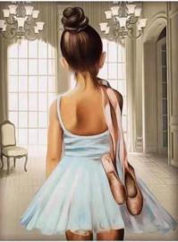 Diamond Painting Miss Coccinelle  Ballerina 40x50