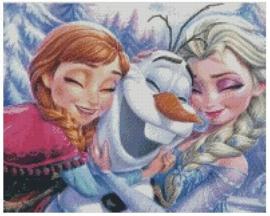 Diamond Painting Miss Coccinelle  Frozen 40x50