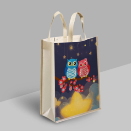 Diamond Painting Tas Shopping Bag  Love Uiltjes