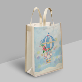 Diamond Painting Tas Shopping Bag  Luchtballon