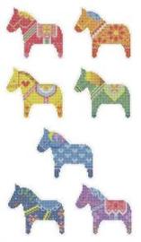 Diamond Painting  Stickerset 7 pony's