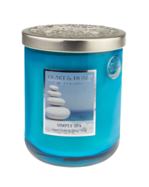 Heart & Home candle 340gr Simply Spa